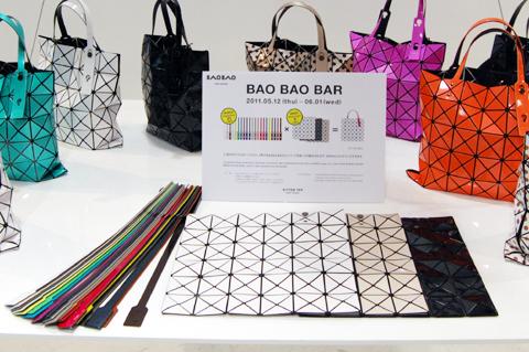 las tiendas de bao bao tambin fueron diseadas con la idea misma idea de poder cambiar fcilmente de apariencia