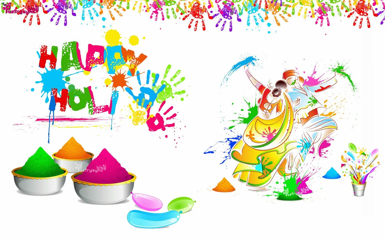 Happy Holi Janu Wallpaper-Download Best Wallpaper Free