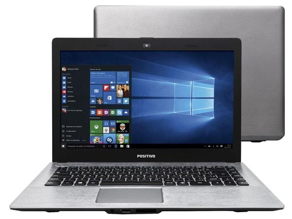 Notebook Positivo com processador intel 4ª geração