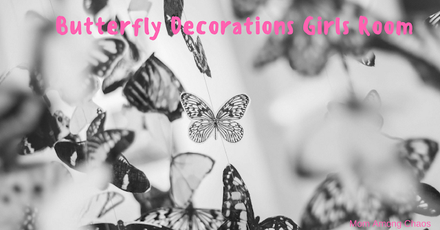 Butterfly Decorations Girls Room,