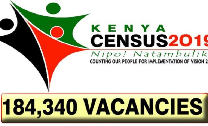 RECRUITMENT OF 2019 KENYA CENSUS