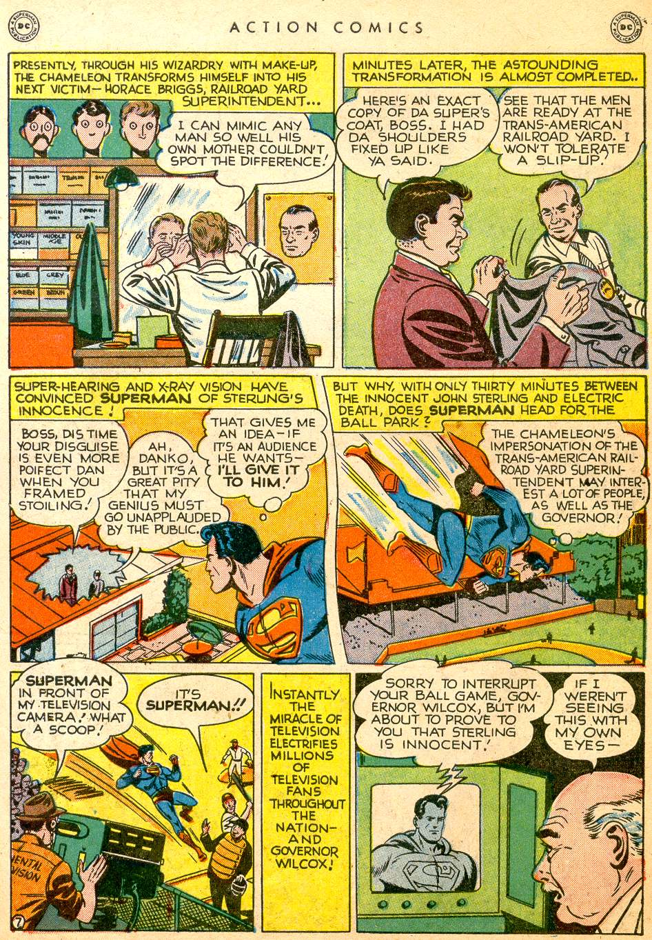 Read online Action Comics (1938) comic -  Issue #126 - 9
