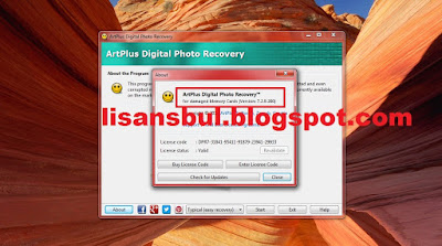 ArtPlus Digital Photo Recovery 7.2 key