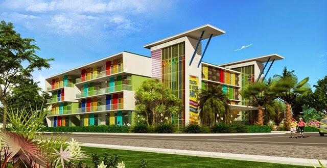 Trường học tại dự án biệt thự Louis City Đại Mỗ.