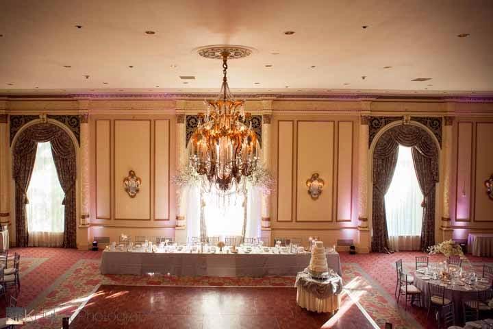 luxury wedding reception, Fairmont Olympic Hotel wedding