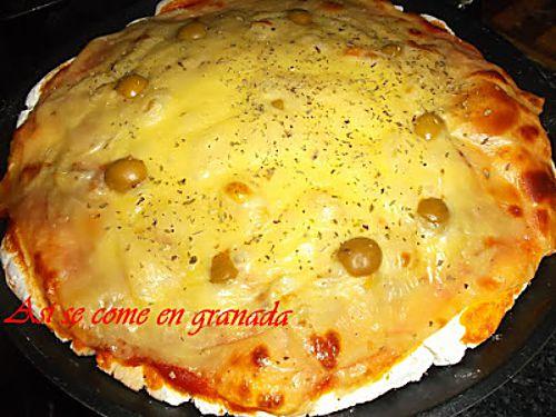 Masa para pizzas sin gluten