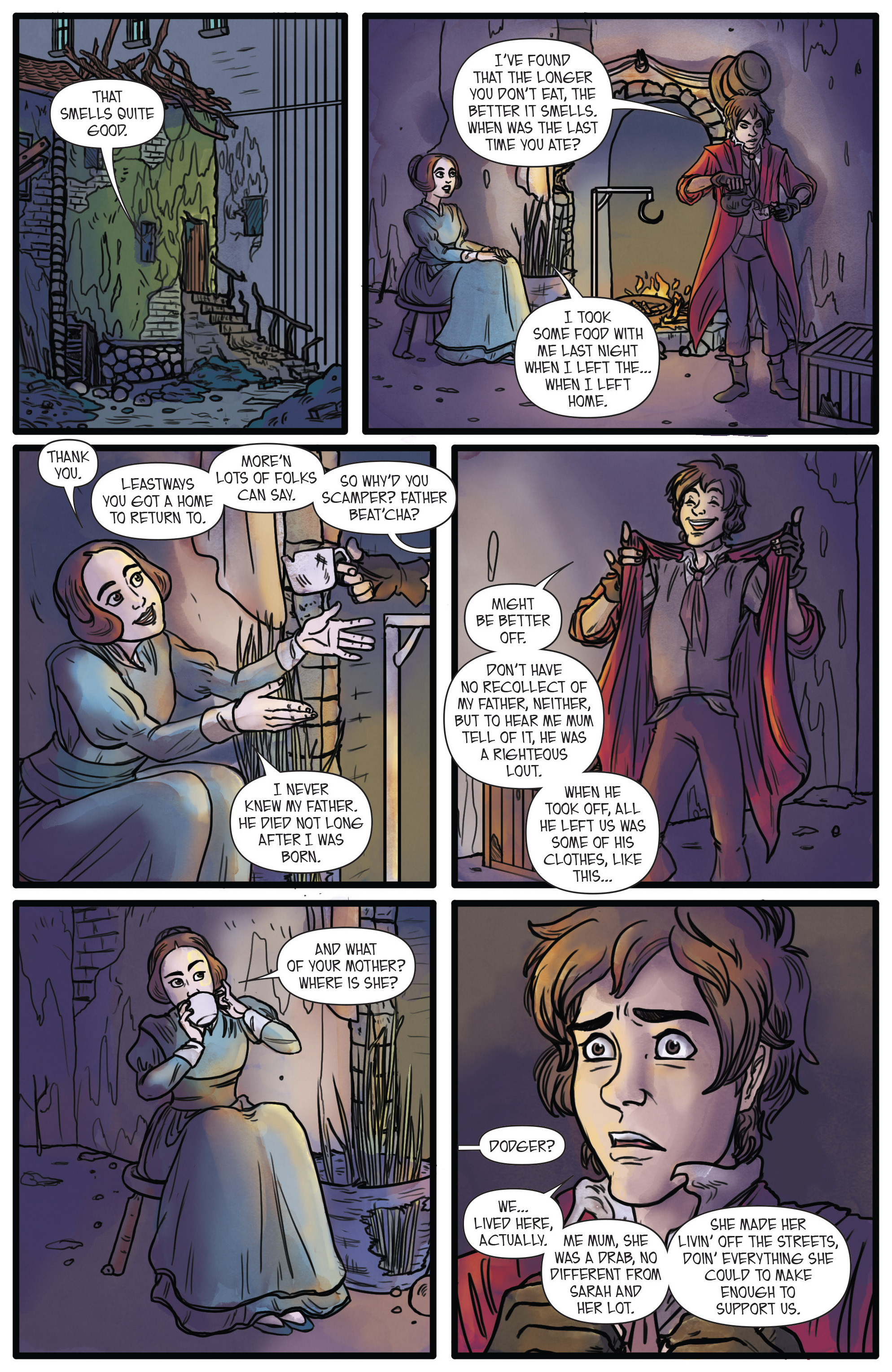 Read online Artful comic -  Issue #1 - 18