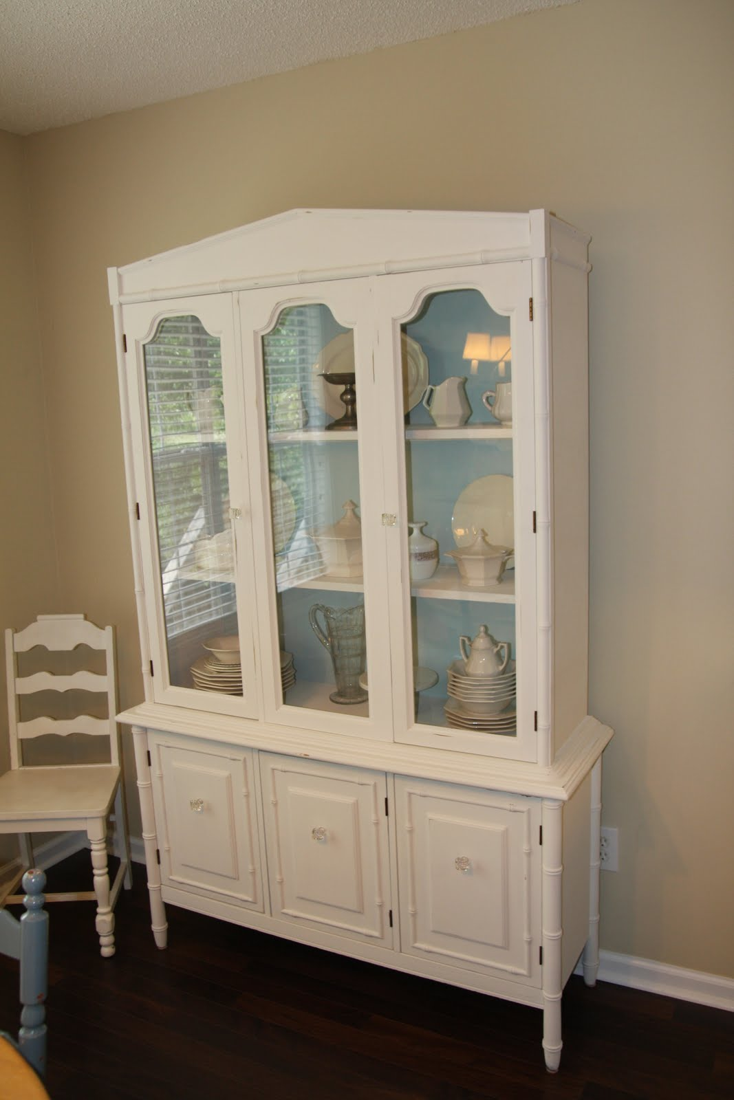 As T Ime Goes By China Cabinet Redo