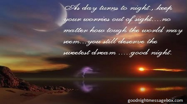 good night love poems for friends