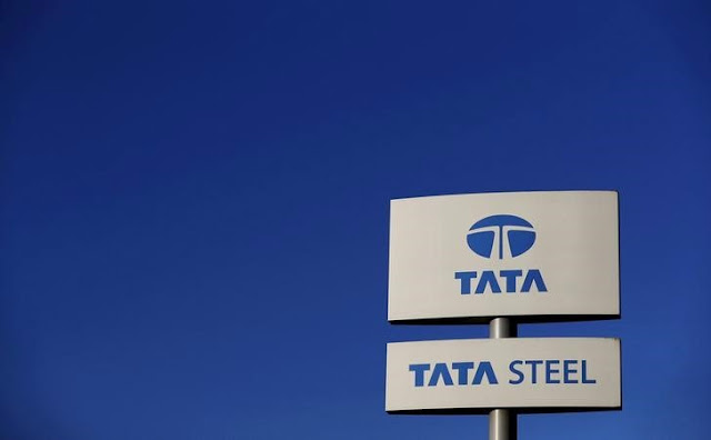 Image Attribute: A company logo is seen outside the Tata steelworks near Rotherham, Britain, in this March 30, 2016 file photo.  REUTERS/Phil Noble/Files