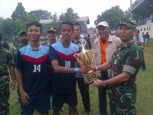 SMKN 1 Tapos Juara Turnamen Sepakbola Kodim 0508/Depok