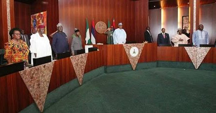 Photos: Pres. Buhari presides over Federal Executive Council meeting today