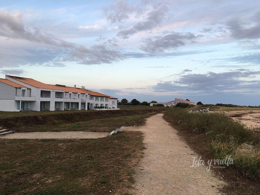 Hotel Atalante Thalsso, habitaciones hacia la playa