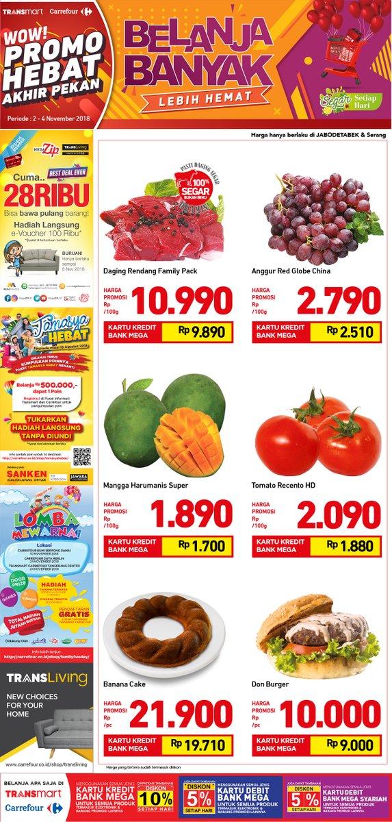 Transmart - Promo Katalog JSM Periode 02 - 04 November 2018