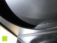Boden innen: Modische elegante Dekoschale mit edlem Glaseinsatz