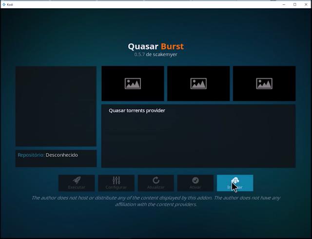 Quasar Burst
