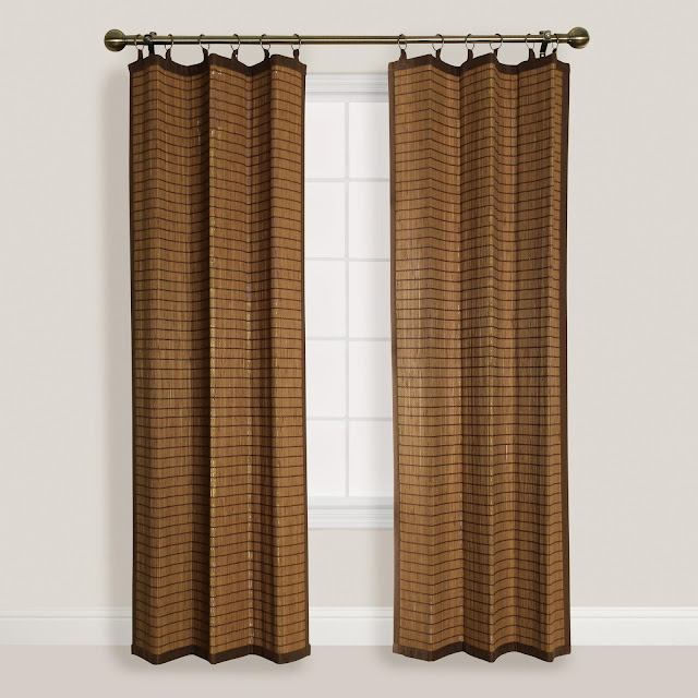 Bamboo Kitchen Curtains: Bamboo Outdoor Curtain