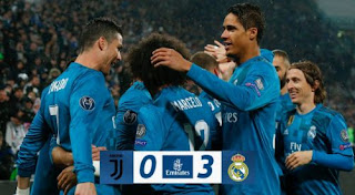 Juventus vs Real Madrid 0-3