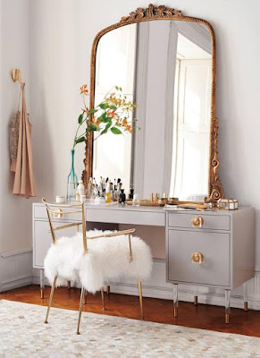 retro large dressing table mirrors for classic bedrooms
