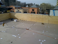 Commercial Roofing Project in Progress (EPDM)