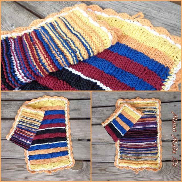 Knitted Towels - Gestrickte Handtücher