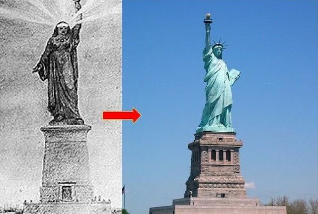 Ternyata Patung Liberty Di Amerika Merupakan Perwujudan Perempuan Muslim Mesir, Ini Buktinya