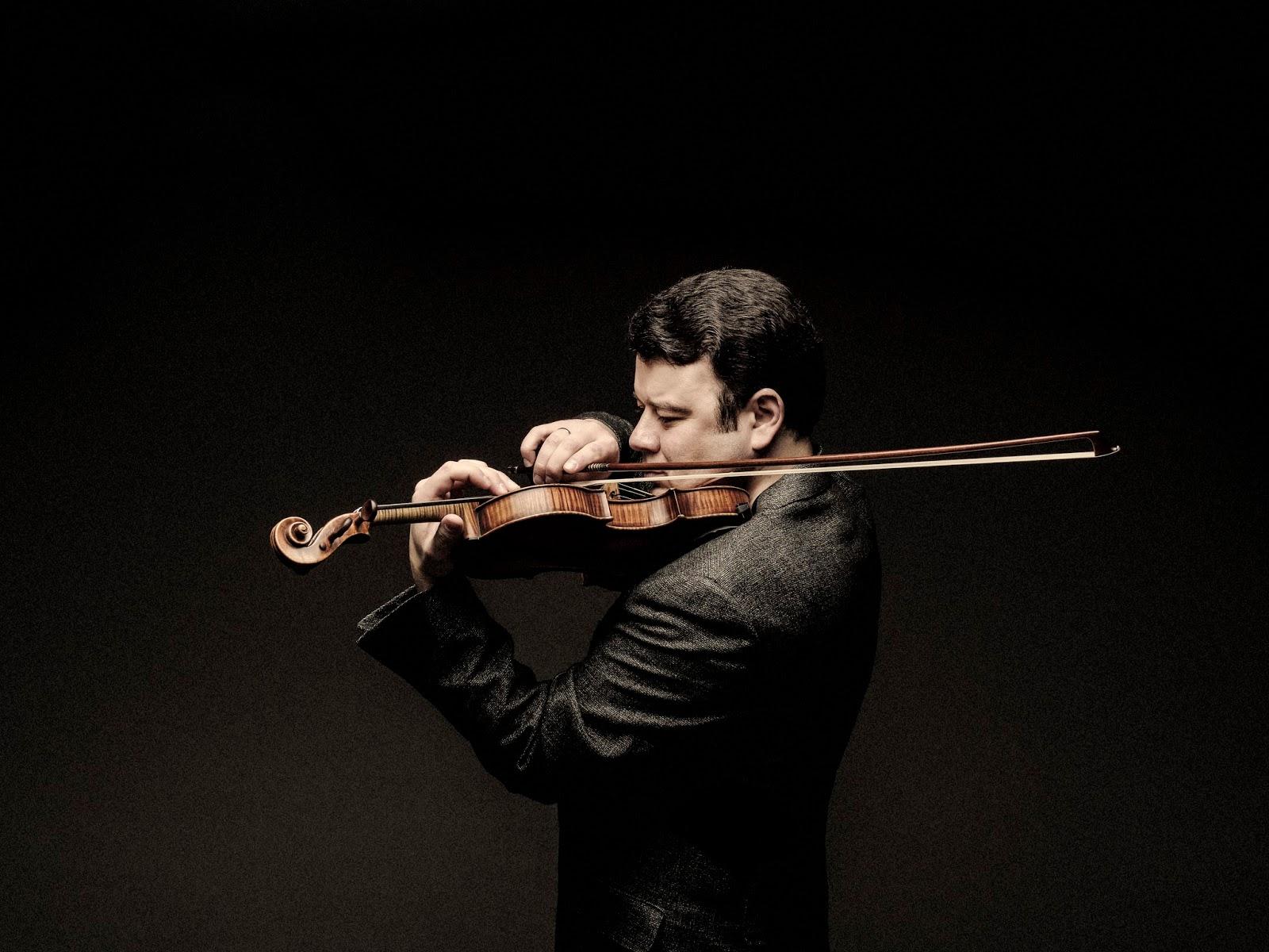 Planet Hugill: Bernstein, Gubaidulina & more: violinist
