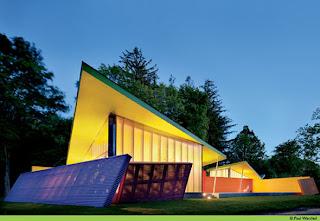 desain eksterior rumah berwarna-warni   gosip gambar