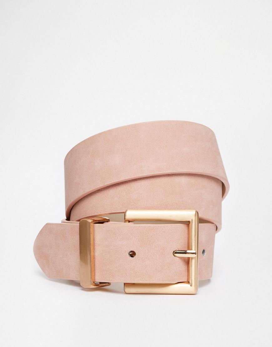 ASOS blush belt