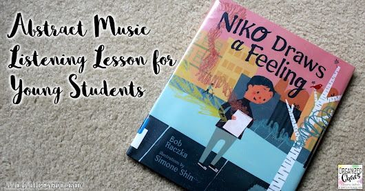 Abstract Music Listening Lesson for Young Students: Niko Draws a Feeling
