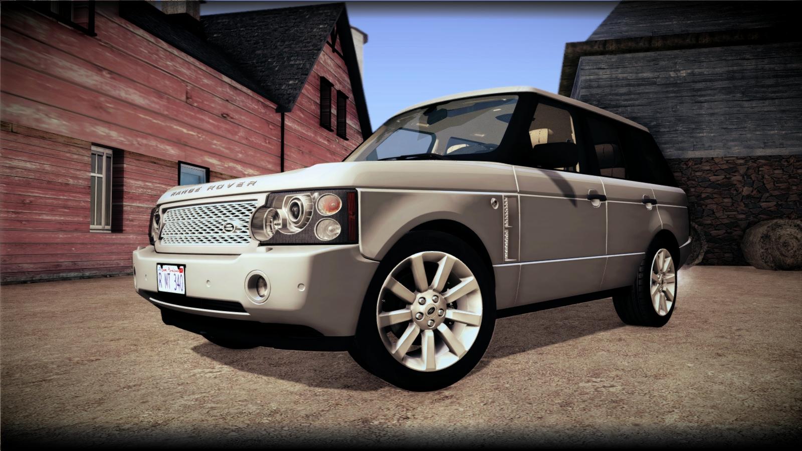 Matheus340 Land Rover Range Rover Supercharged 2008