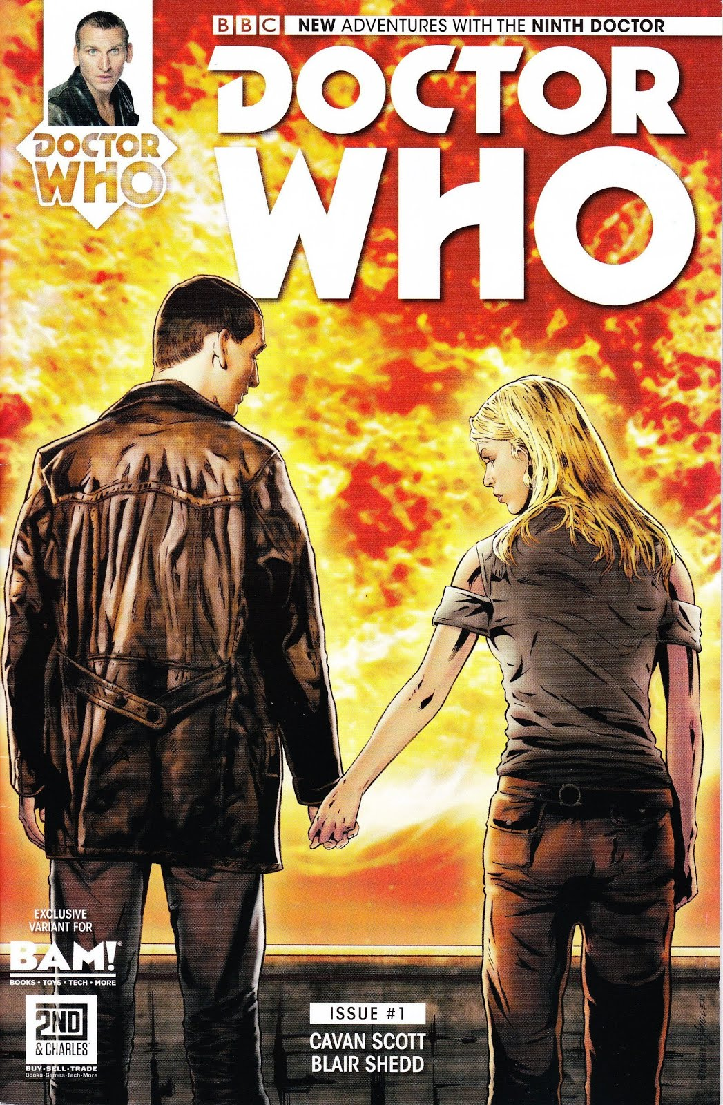 Doctor Who The Ninth Doctor #1 BAM! Variant Cover May 2016 Titan Comics
