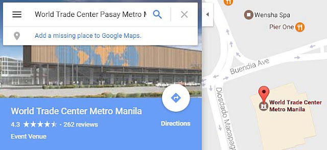 World Trade Center Pasay Metro Manila Philippines Google Map Directions