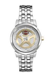 Harley Davidson Women's Bulova Stainless Steel Wrist Watch 78L114