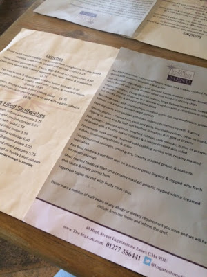 The Star, Ingatestone, Pub, Essex, Traditional, Sandwiches,