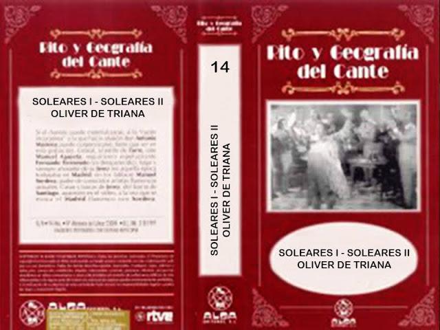"""Tío Gregorio El Borrico de Jerez RITO Y GEOGRAFÍA DEL CANTE"""" (14) VHS   SOLEARES II"""