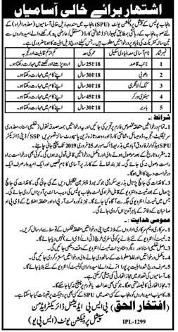 SPU Farooqabad 2019