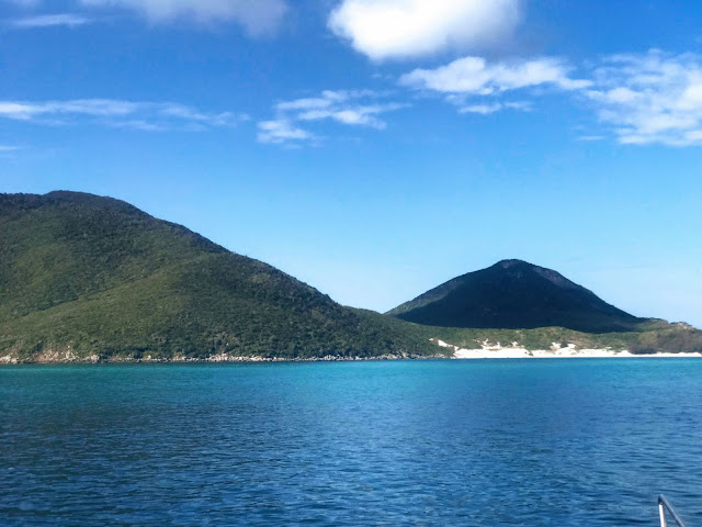 Passeio de barco - Arraial do Cabo