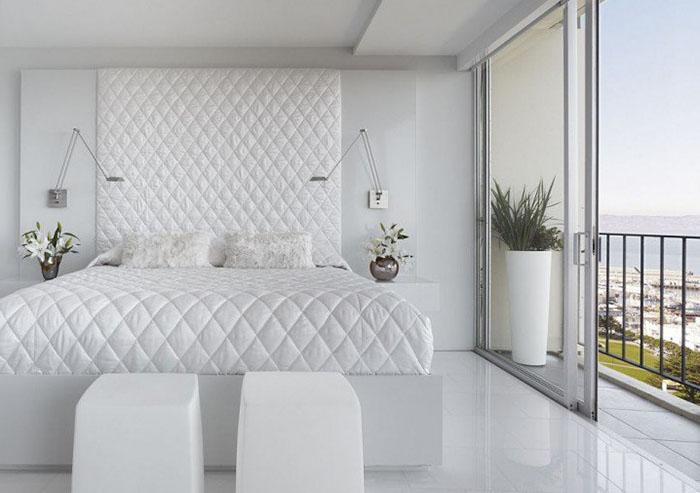beyaz yatak odası örnekleri