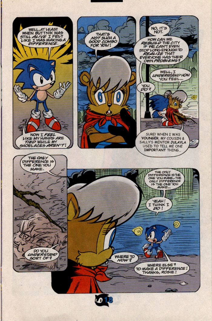 Read online Sonic The Hedgehog comic -  Issue #54 - 21
