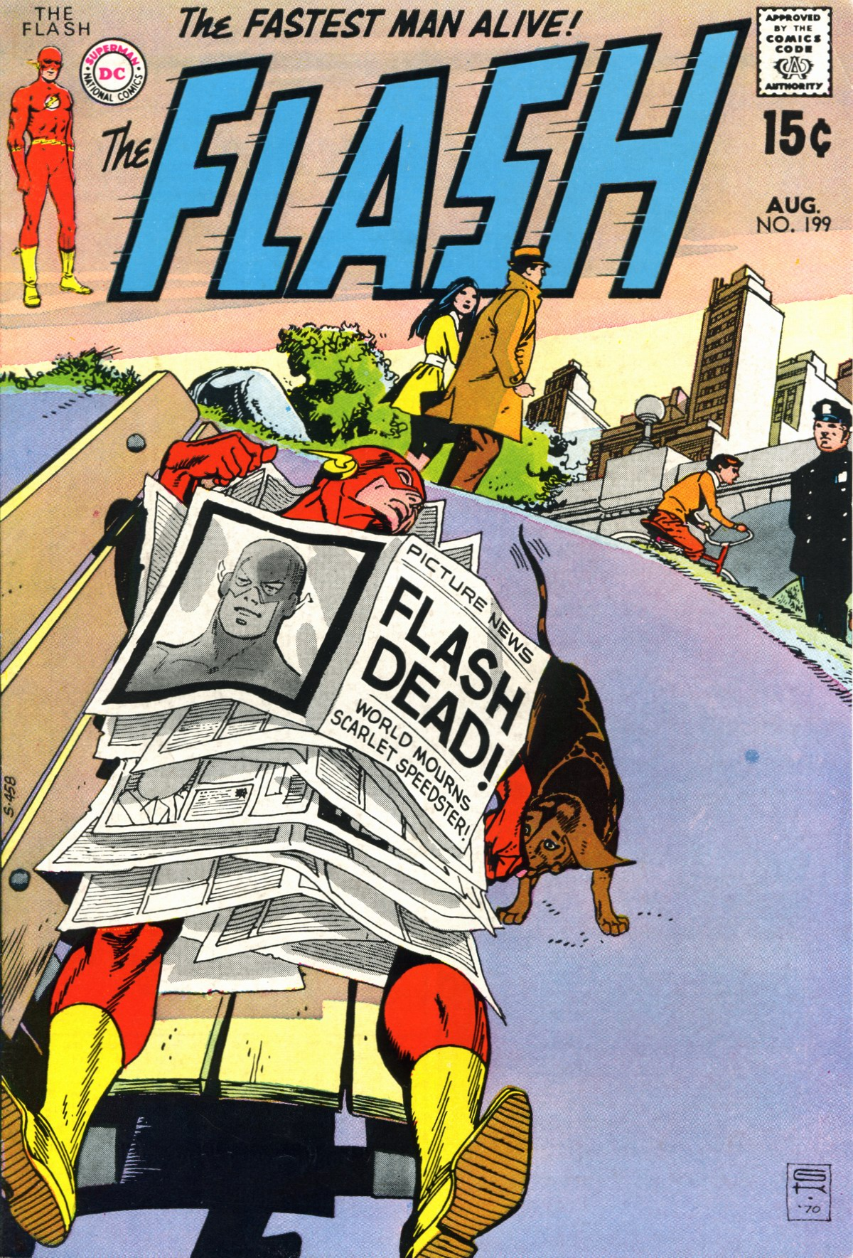 The Flash (1959) 199 Page 1