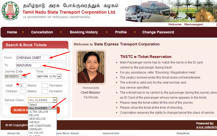 tnstc,ticket,bus ticket,online booking,how to,reserve ticket online