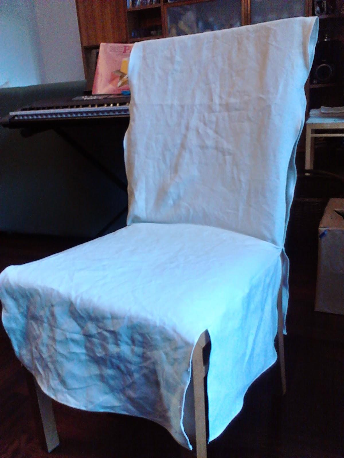 Favoloso Casalinga artigiana: Copri sedia facile fai da te - chair covers DIY QG23