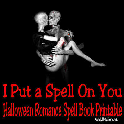 Put a spell on your Partner with this fun printable spell book for a romantic Halloween date night.  Spell book is from Dating Divas and adds a little fun to your romantic relationship.