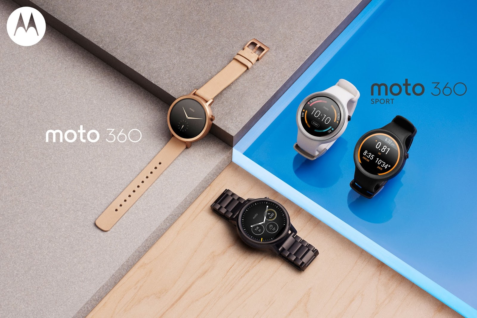 The New Moto 360 Collection: Giving you more choice with the watch that makes time for you