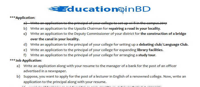National University Honours 2nd Year English Suggestion 4