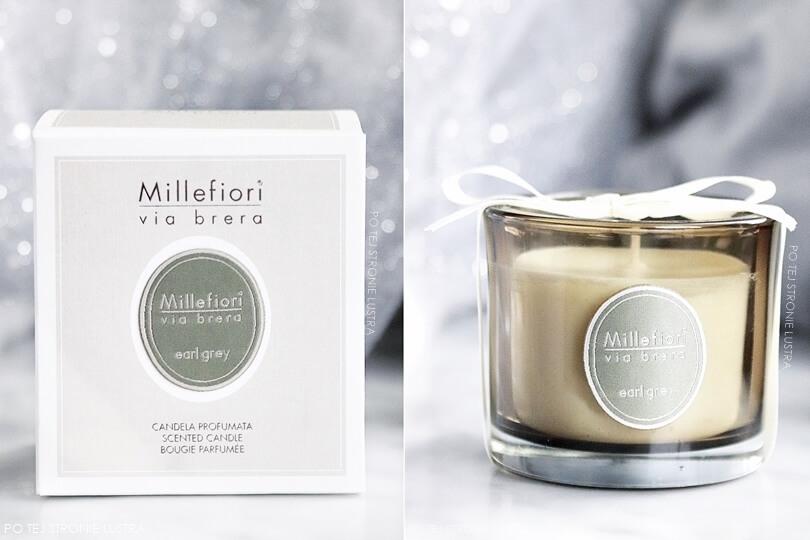 millefiori via brera earl grey świeca zapachowa