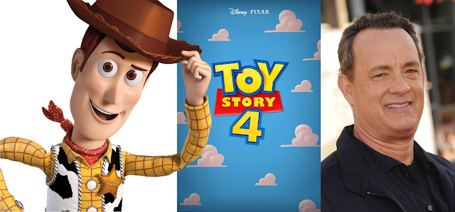 Woody, Toy Story 4 Poster and Tom Hanks
