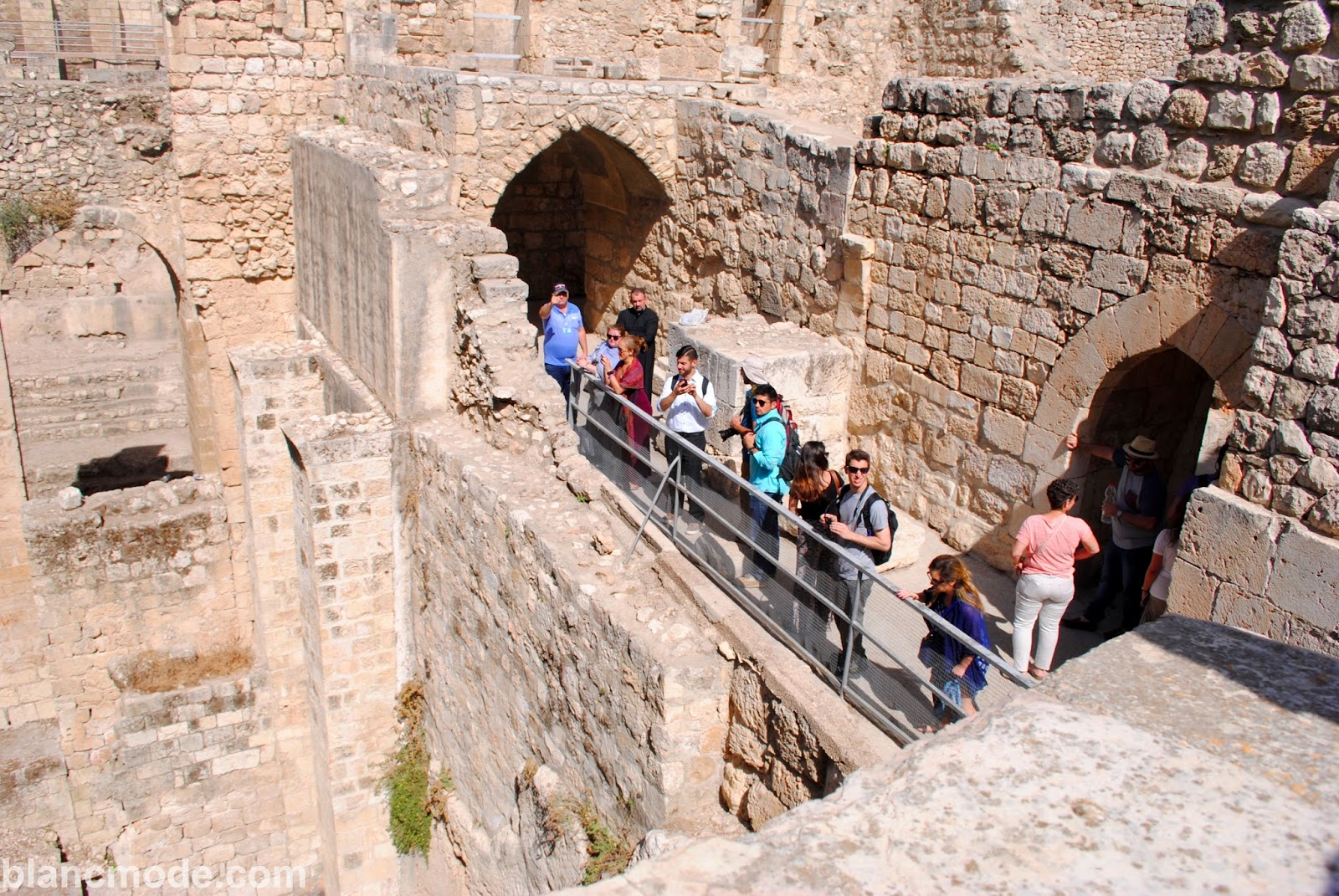 pool of bethesda where Jesus healed the paralytic