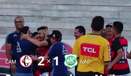 Campinense vence Nacional